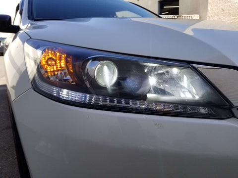 2014 honda accord high beam and low beam headlight housing