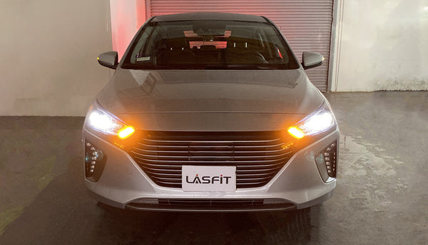 2018 Hyundai Ioniq Front Turn Siganl Light LASFIT 1157 CANBUS LED