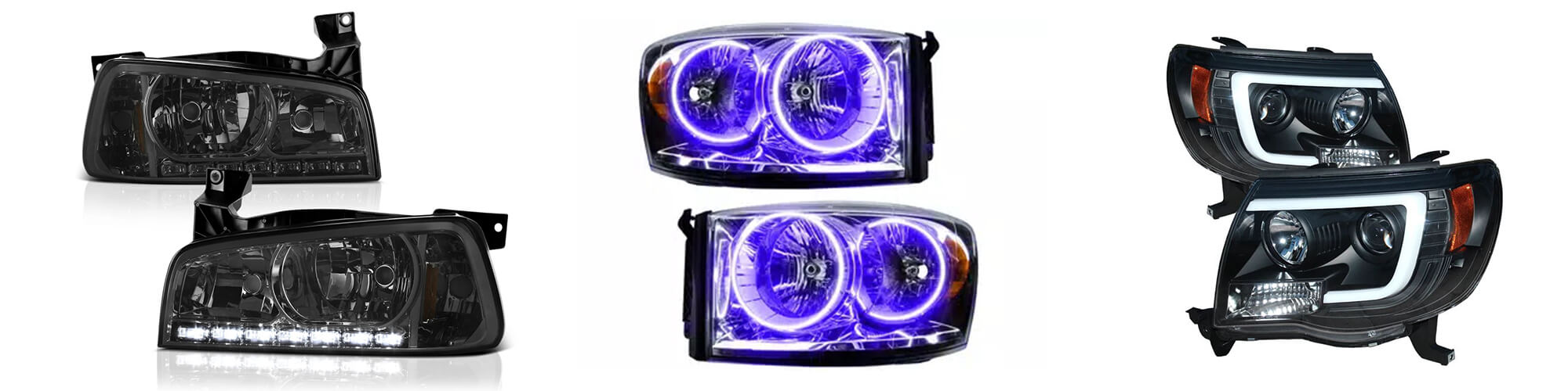Aftermarket headlight assembly