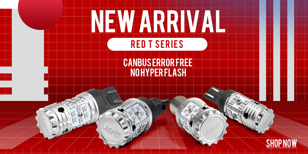 LASFIT New Releases CANBUS Red Turn Signal Light Bulb