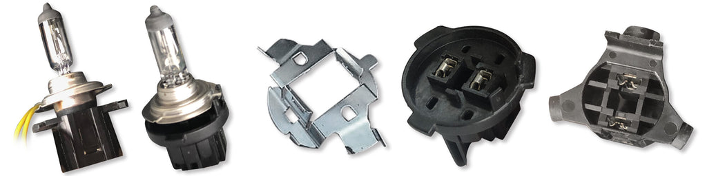 different H7 adapter retainer