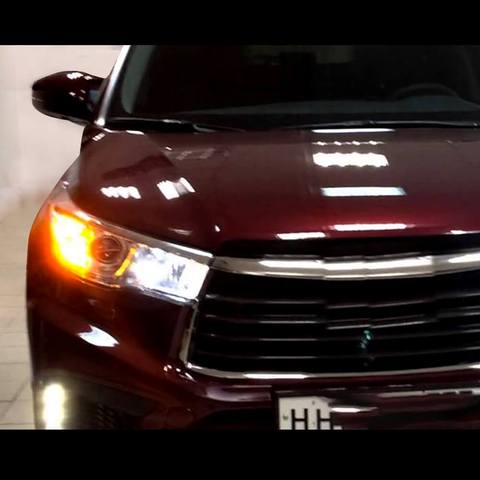 lasfit 7444  turn signal light bulb on 2018 Toyota Highlander