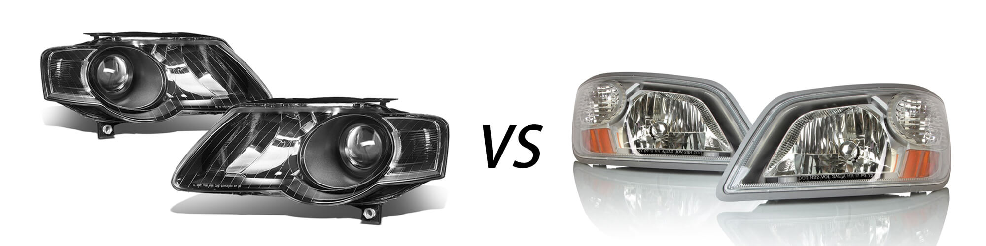 projector vs reflector housing