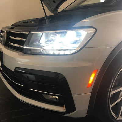 2016 tiguan low beam headlight replacement led
