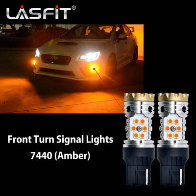 LED Headlight Kit Exterior Interior Light Bulbs fit 2015 2016 2017 Subaru WRX STI