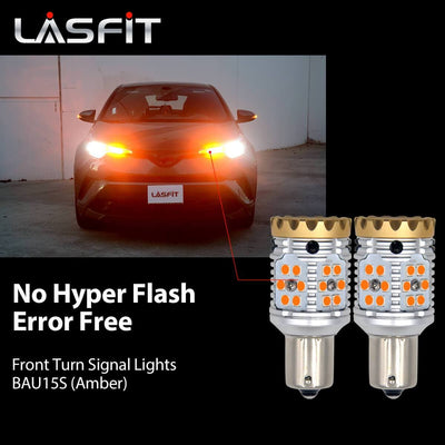 BAU15S led front turn signal light bulbs