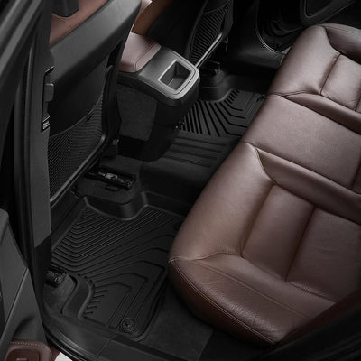2018-2021 Volvo XC60  Front & 2nd Row Seat Floor Mats All Weather TPE Liners(NOT for Hybrid)