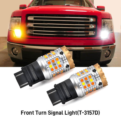 2009-2014 Ford F150 LED Bulbs H13 Exterior Interior Lights