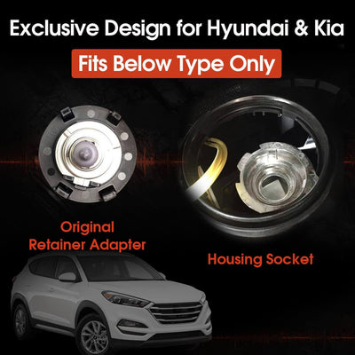How to install low beam headlight bulb to 2016-2020 Hyundai Tucson LASFIT