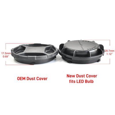 Dust Cover Seal Cap Waterproof OEM Design for Hyundai Kia LED Headlight Bulb DC1004