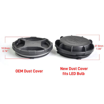 Dustproof Cover Seal Cap Waterproof OEM Design for Hyundai Kia LED Headlight Bulb DC1005