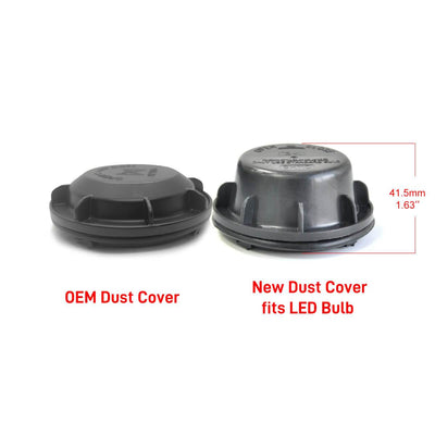 Headlight Dust Cover Waterproof Seal Cap for Hyundai Accent Sonata /Chevy Malibu Captiva Extended OEM Design