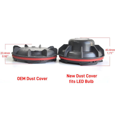 LED Headlight Dustproof Cover Waterproof Seal Cap OEM Design Kia Forte Sportage
