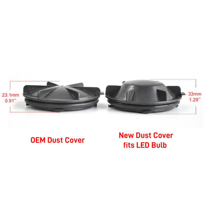 LED Headlight Bulb Dust Cover Cap Waterproof OEM Design for Chevy DC1003
