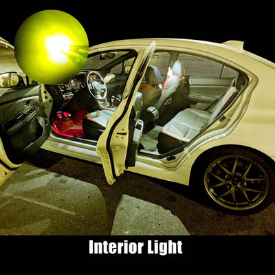 lasfit golden yellow 2825 interior door light