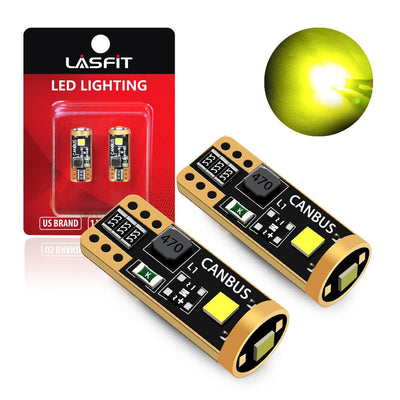 lasfit t10 golden yellow bulb