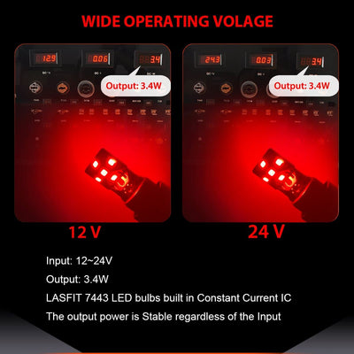 red wide voltage