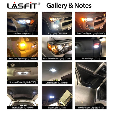 2014-2020 Toyota 4Runner LED Lights Performance LASFIT