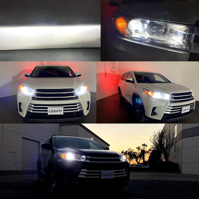 H11 LED Headlight Bulbs Low Beam Custom-Made for 2017 2018 2019 Toyota Highlander