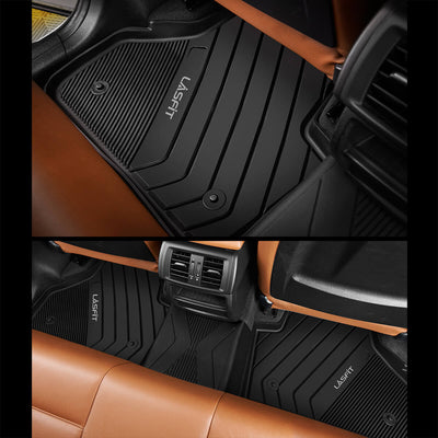 2013-2018 BMW X3/ X4 1st & 2nd TPE Floor Liners All Weather Black