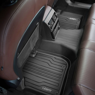 2017-2020 Jaguar F-Pace 1st & 2nd TPE Floor Liners All Weather Black