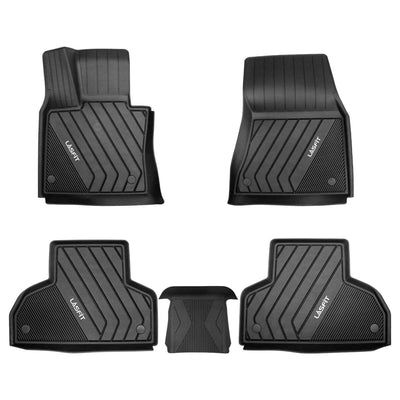 2014-2018 BMW X5 1st & 2nd TPE Floor Liners All Weather Black