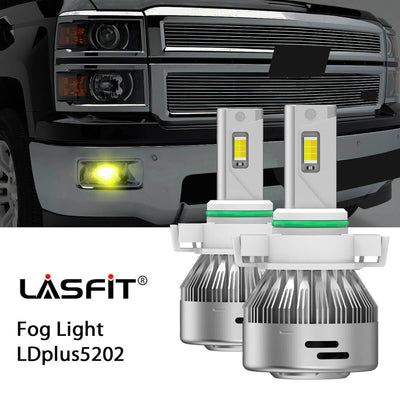 2014-2020 Chevrolet Silverado 1500 LED Headlight Bulbs High Low Beam Exterior Interior Lights