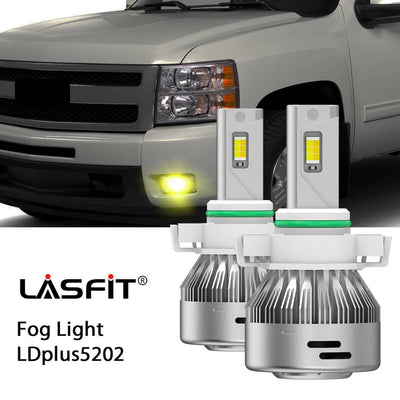 2008-2013 Chevrolet Silverado 1500 LED Bulbs H11 9005 Exterior Interior Lights Plug and Play