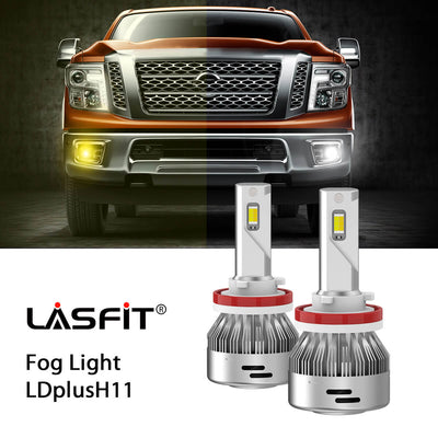 2016-2019 Nissan Titan LED Bulbs H11 9005 Exterior Bulbs Upgrade