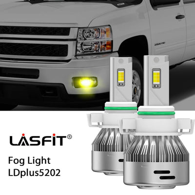 2008-2014 Chevrolet Silverado 2500 3500 LED Headlight Bulbs High Low Beam Exterior Interior Lights