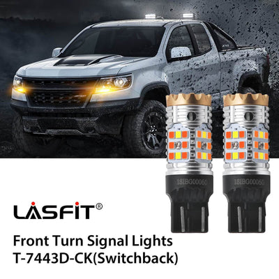 2015-2019 Chevrolet Colorado LED Headlight Bulbs High Low Beam Exterior Interior Lights