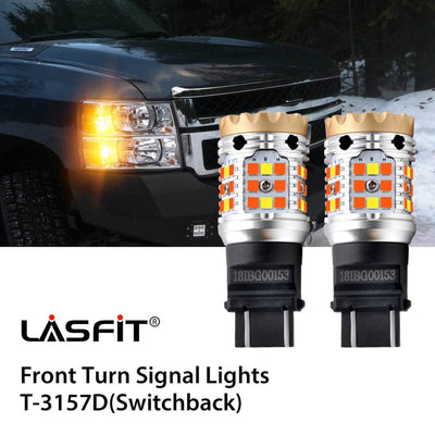Error Free LED Turn Signal Light Fit 2010 Chevy Silverado 2500/3500 LASFIT