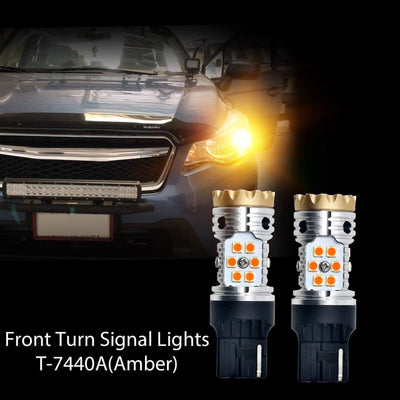 2016-2017 Subaru Crosstrek LED Headlight Bulbs Exterior Interior Lights Plug and Play