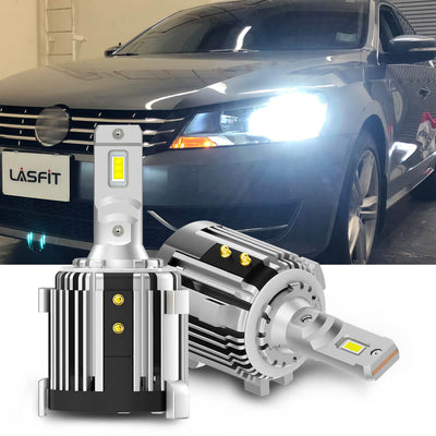 LED Headlight Bulbs Replacement For VW Passat 2012-2019 LASFIT