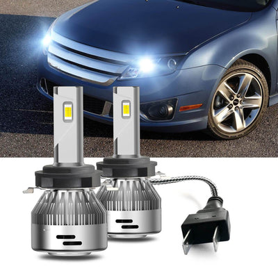 fusion high beam headlight bulb lasfit h7