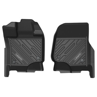 Ford F-150 Regular 2015-2021 (Without Center Hump Floor Mat ) All Weather Front Floor Liner