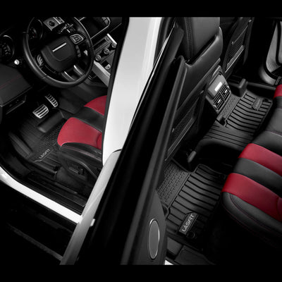 2011-2019 Land Rover Range Rover Evoque Floor Mats Front & 2nd Seat All Weather Custom-Fit Liner