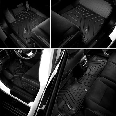 2016-2020 Lexus RX350 RX450h Floor Mats Front & 2nd Seat All Weather TPE Liners