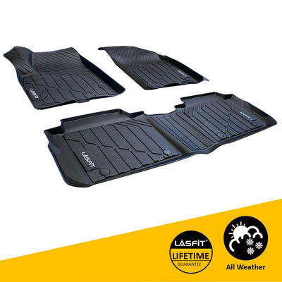 2016-2020 Cadillac XT5 Front & 2nd Row Seat Floor Mats All Weather TPE Liners