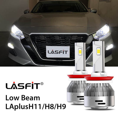 LED Headlight Bulbs Fit 2019-2020 Nissan Altima H8 H9 H11 LASFIT