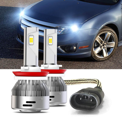 fusion low beam H11 led headlight bulb lasfit