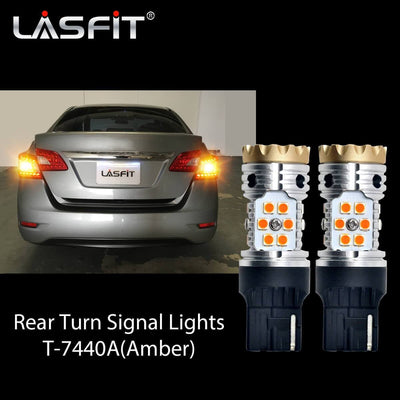 2013-2015 Nissan Sentra LED Headlight Bulbs Exterior Interior Lights