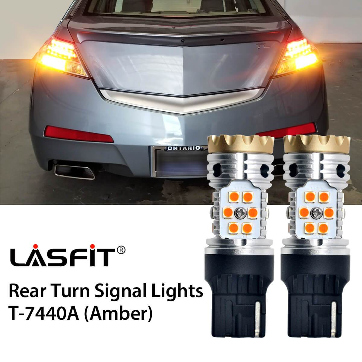 LED Exterior Light Bulbs Upgrade For 09-11 Acura TL LASFIT