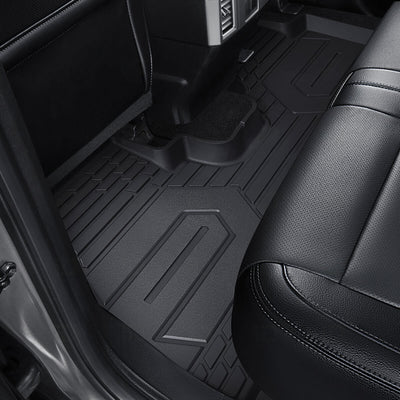 2019-2020 Chevrolet Equinox 1st & 2nd TPE Floor Liners All Weather Black