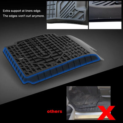 Mercedes-Benz CLA 2014-2019 All Weather TPE Floor Liner