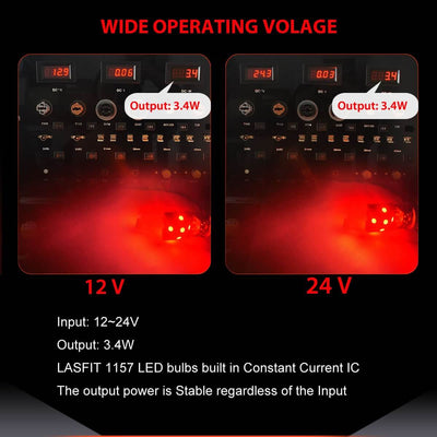 lasfit 2397 wide operating voltage
