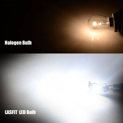 lasfit 912 white color light VS halogen bulb