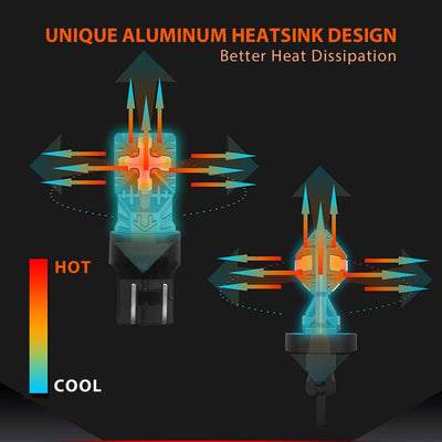 lasfit W21W aluminum heat sink design better dissipation
