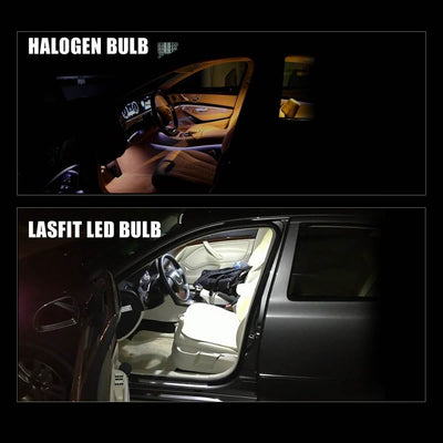 lasfit de3021 led door light vs halogen bulb