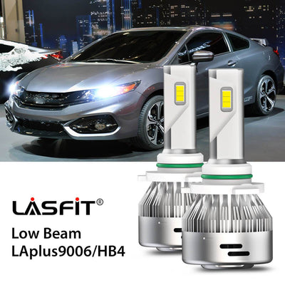 LED Headlight Bulbs Fit 2014-2015 Honda Civic 9006 LASFIT